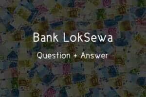 Nepal Rastra Bank Loksewa Question 2021